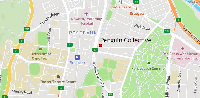 Penguin Collective location on map